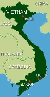Mui Ne Location Information